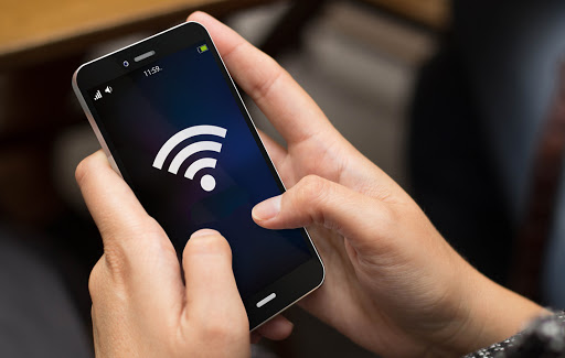 Une application d'amplification wifi
