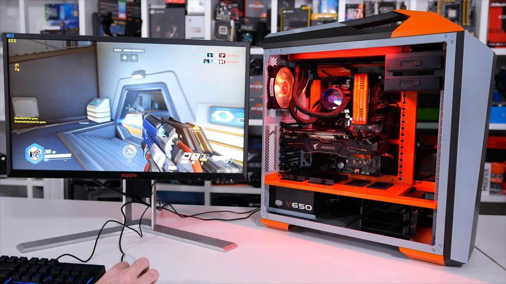 Une session de jeu sur un PC Gaming