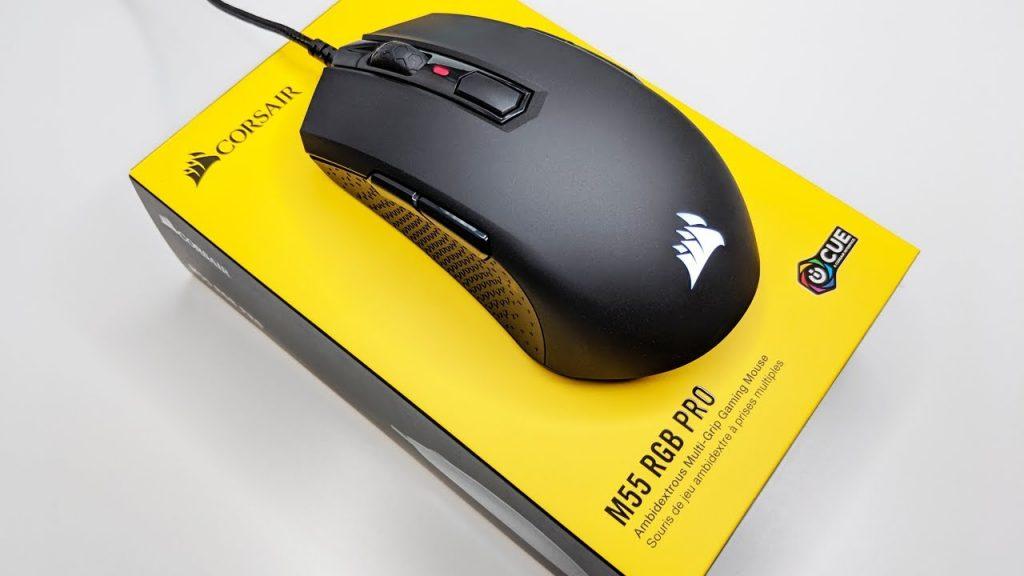 Une souris gaming corsair